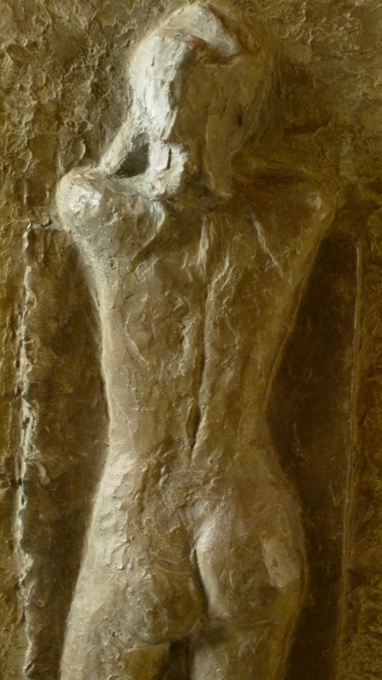 Faraway, bronze, 51x25cm, 20x10, detail