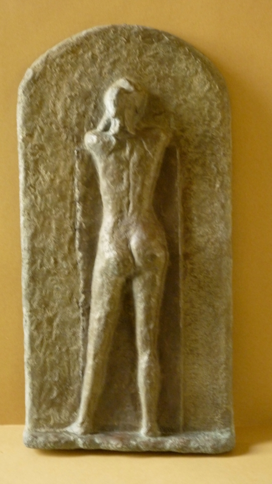 Faraway, bronze, 51x25cm, 20x10