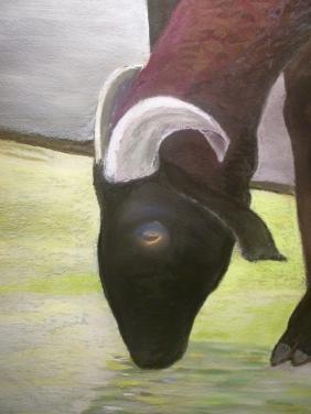 Large Pecora Study #2, detail