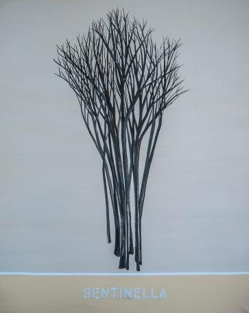 "Sentinella #3, 150x120cm, 60""x47"", oil on canvas, 2021"
