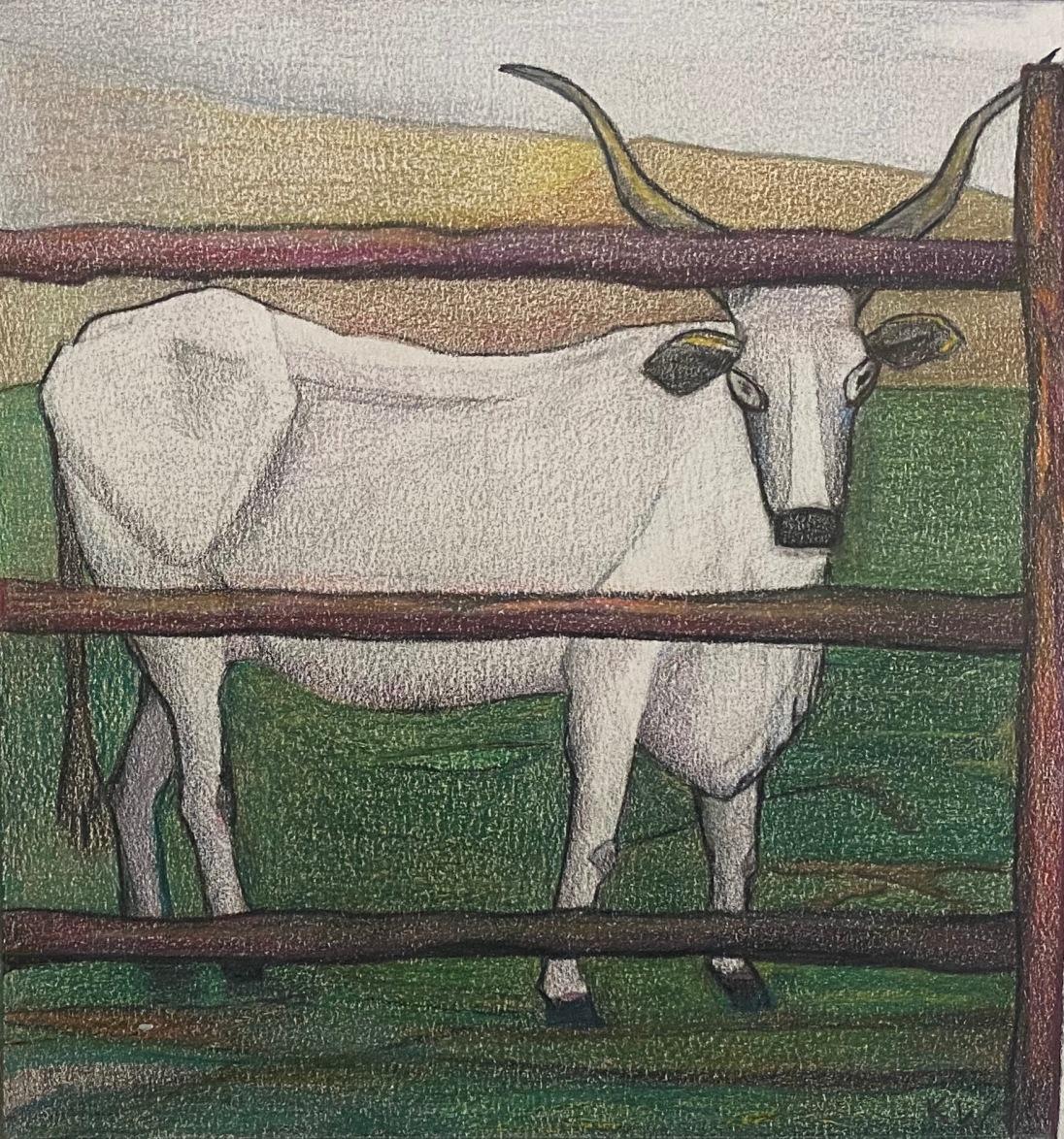 Maremma #1, Pencil on paper, 17×18,5, 6 3/4″x6 1/2″, 2021