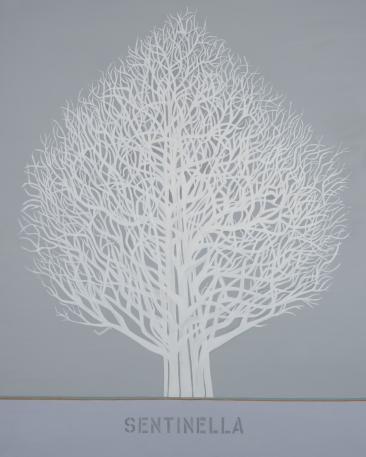 "Sentinella #2, 150x120cm, 60""x47"", oil on canvas, 2021"