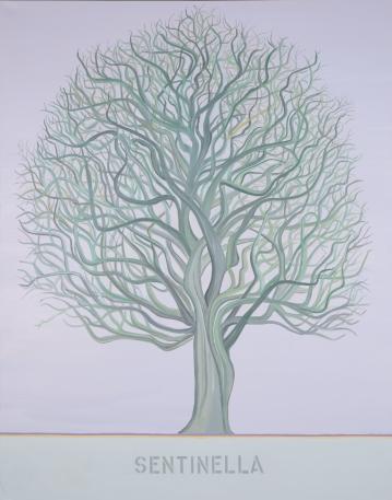 "Sentinella #1, 150x120cm, 60""x47"", oil on canvas, 2021"